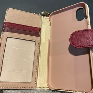 Michael Kors wallet case for IPhone X/XS